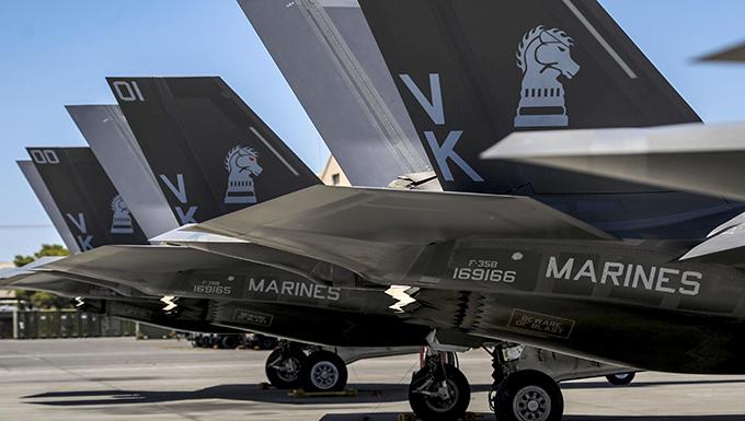 F-35B makes history