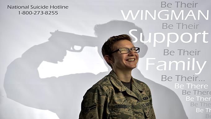 Wingman Support Family Photo Illustration