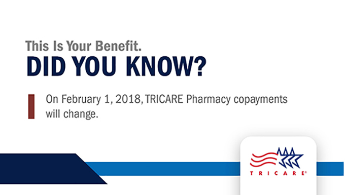 Increases to TRICARE Pharmacy Copayments Coming