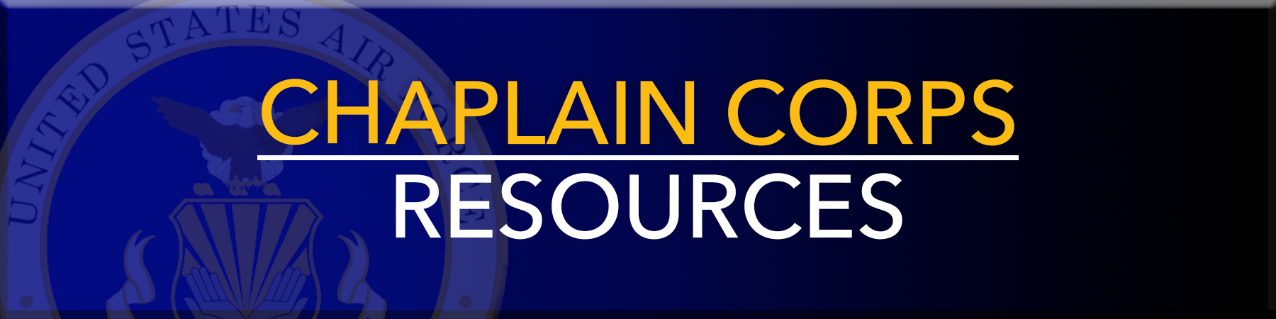 Chaplain Corps Resources