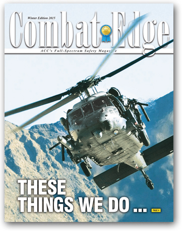 The Combat Edge - Winter 2015