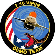 ACC F-16 Demo Team Patch