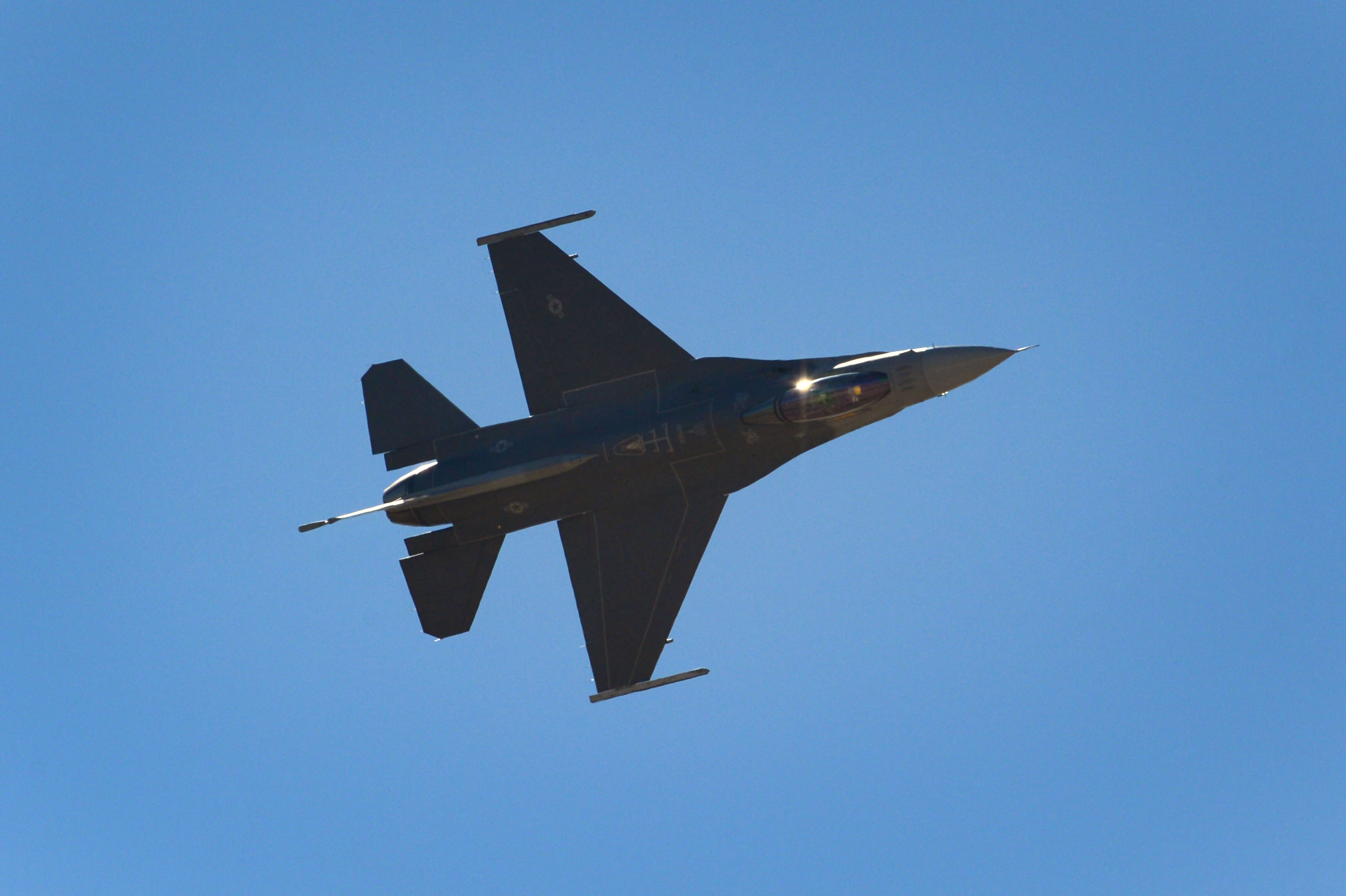 Air Combat Command Units Aerial Events F16 Demonstration Team