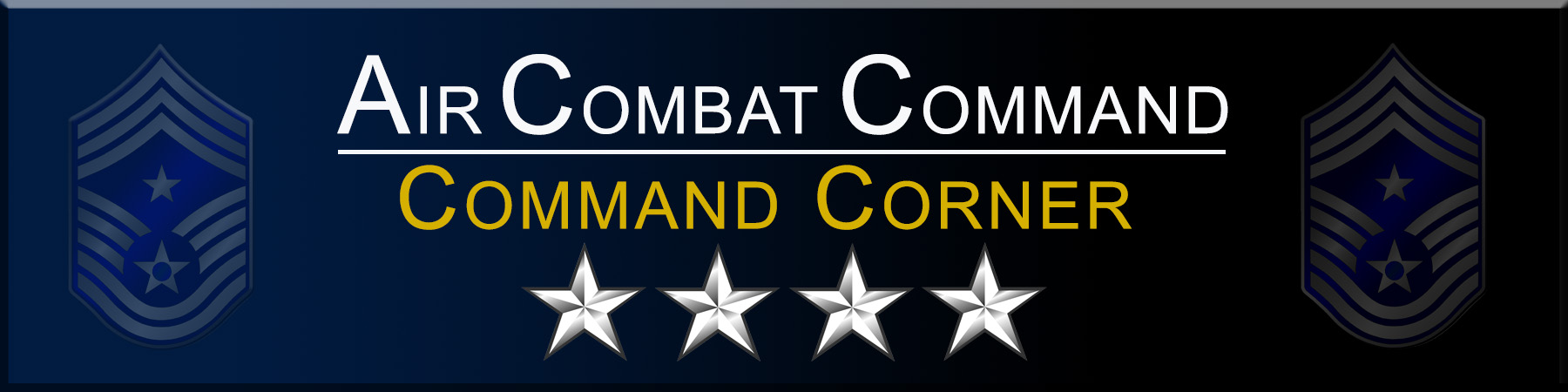 Link to Commander Air Combat Command Corner