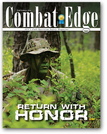 The Combat Edge - Fall 2016