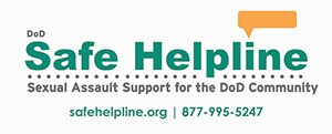 Link to the Department of Defense Safe Helpline page